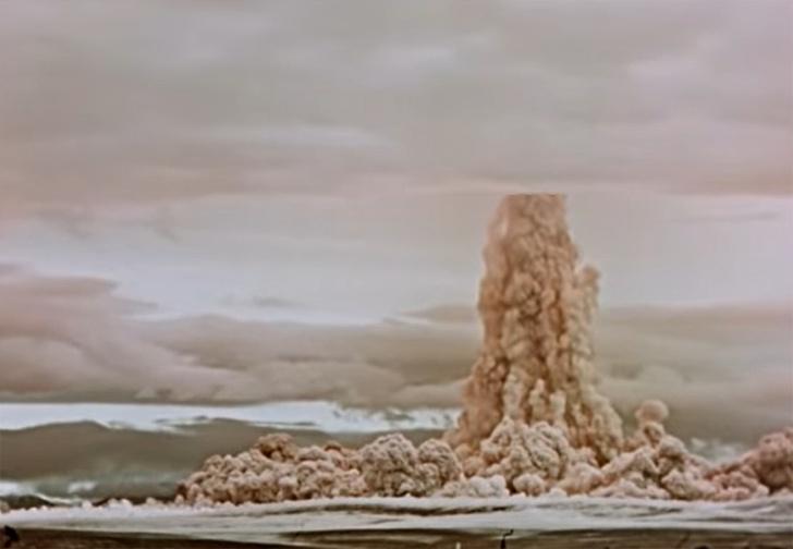 Фото №1 - В России рассекретили видео самого мощного ядерного взрыва, который когда-либо видел мир