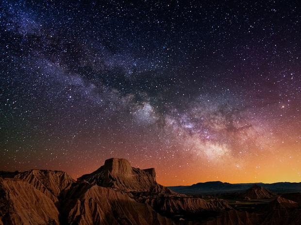 Фото №1 - Звездная карта: самые красивые фото ночного неба