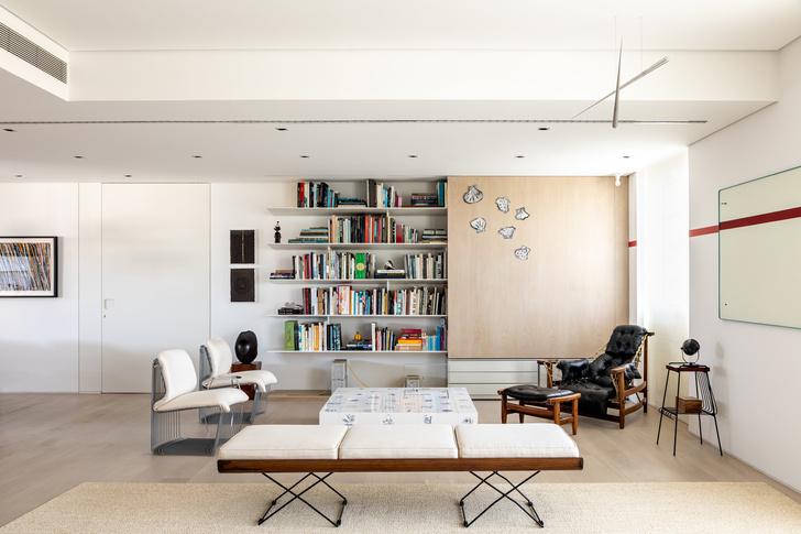 Фото №3 - Светлая квартира для коллекционера в Сан-Паулу