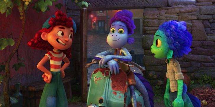 Фото №6 - 10 невероятно прекрасных и трогательных сцен из мультфильма «Лука» от Pixar 🌊