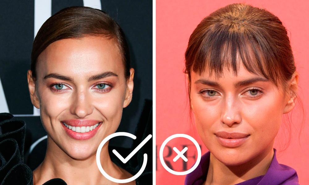 Как челка меняет внешность: 20 фото звезд до и после