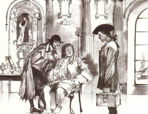 Фото №1 - Подлинная история Ивана Тревогина, таинственного узника Бастилии. Часть I