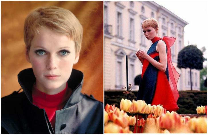 Фото №1 - 23 фотографии 23-летней Миа Фэрроу