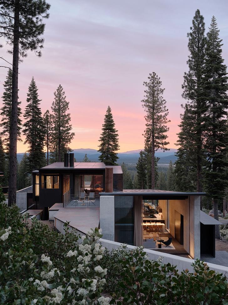 Фото №14 - Модернистский дом на горнолыжном курорте в Калифорнии