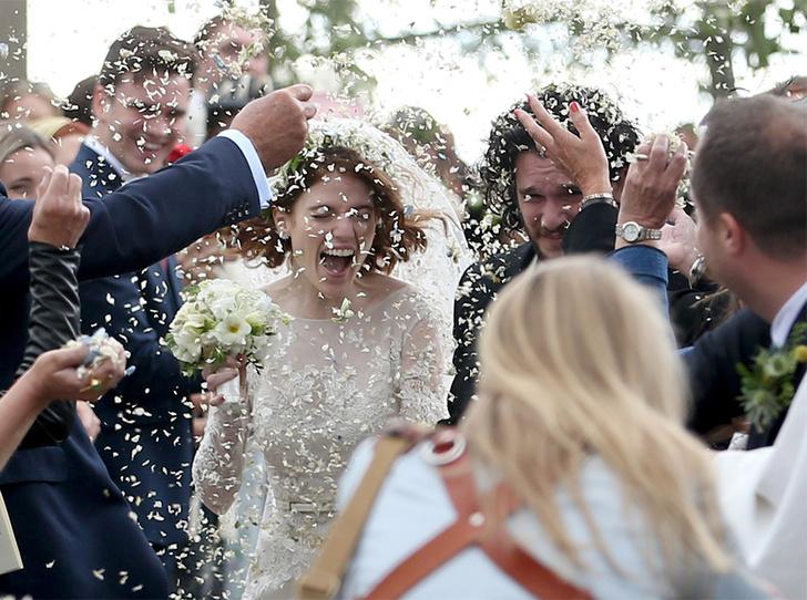 Фото №15 - Свадьба звезд «Игры престолов» Кита Харингтона и Роуз Лесли