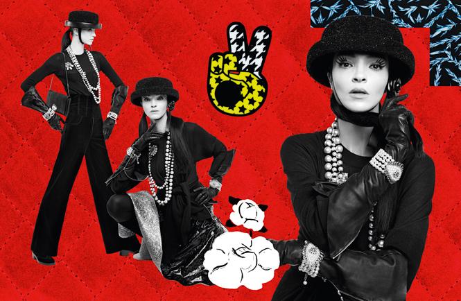 Фото №10 - Коллажи Карла Лагерфельда: креативная кампания Chanel FW 16/17