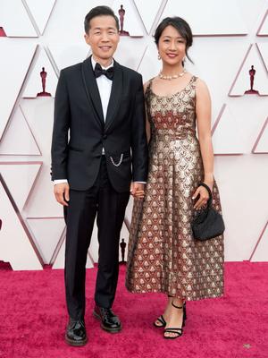 Фото №12 - «Оскар-2021»: самые красивые звездные пары церемонии