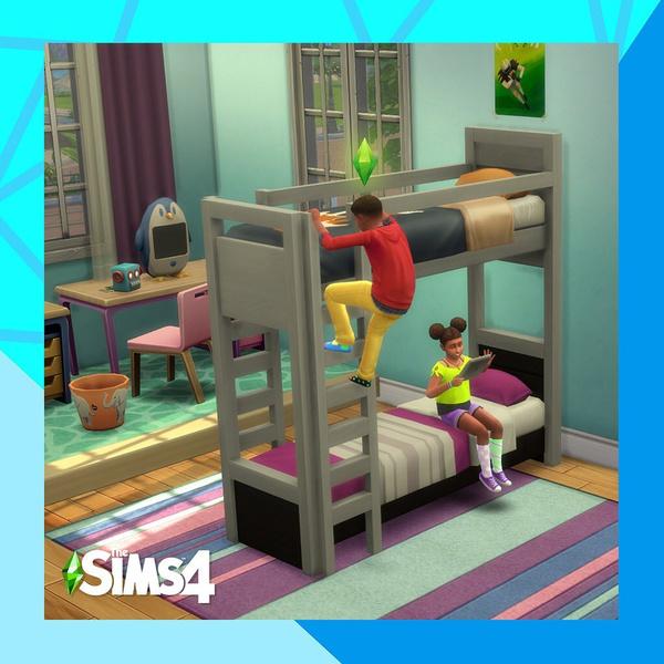 Фото №1 - Наконец-то! В The Sims 4 появились двухъярусные кровати 🥳