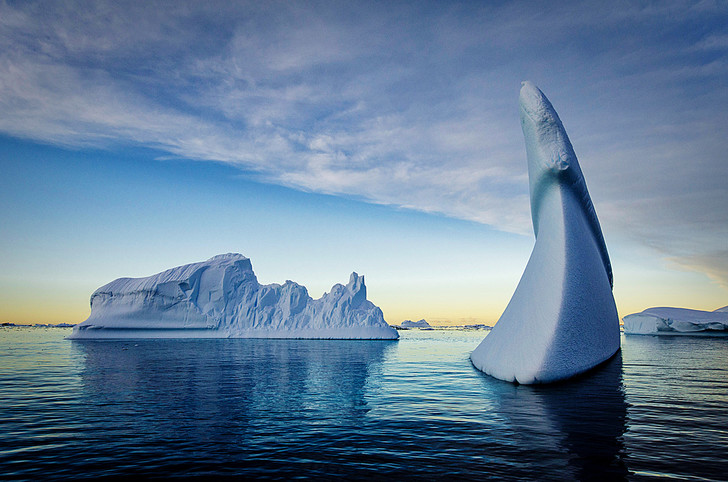 Фото №1 - Цифры: холодное сердце планеты