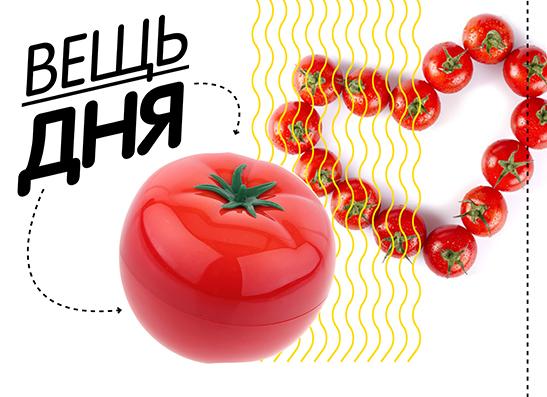 Фото №1 - Вещь дня: Томатная маска для лица Tomatox Magic Massage Pack от Tony Moly