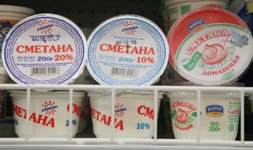 Фото №1 - В петербургских магазинах обнаружили фальсифицированную сметану