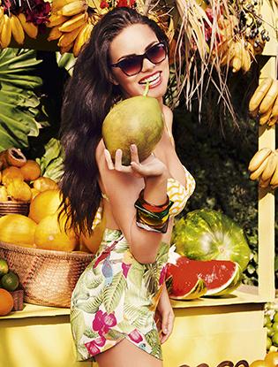 Адриана Лима весна лето 2015 Vogue Eyewear модные очки