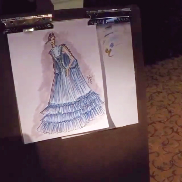 Фото №2 - Студент воссоздаст знаменитое платье Золушки