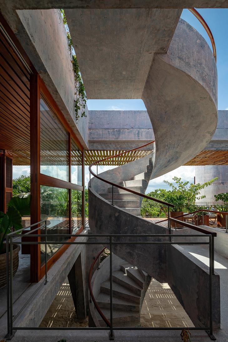 Фото №7 - Бетонный дом на побережье Карибского моря в Тулуме