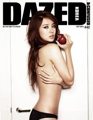 Фото №8 - Нескромные корейцы: 15 девушек-айдолов, которые не побоялись сняться топлес