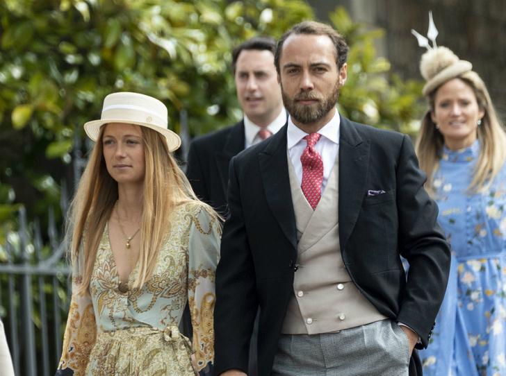 Фото №1 - Джеймс Миддлтон представил возлюбленную на королевской свадьбе