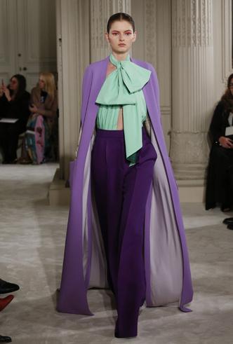 Фото №4 - Цветы и перья: Valentino Haute Couture SS18