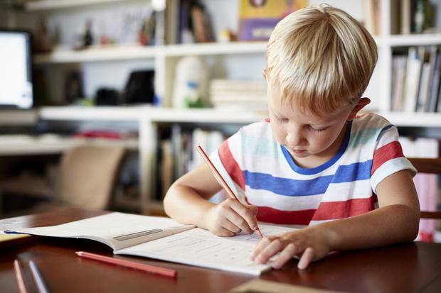 как научить ребенка писать диктант