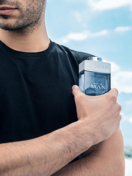 Фото №2 - Ветер перемен: новый «воздушный» аромат Bvlgari Man