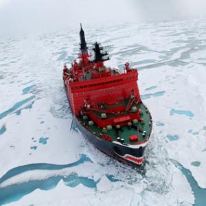 Фото №1 - Северный полюс покрылся водой
