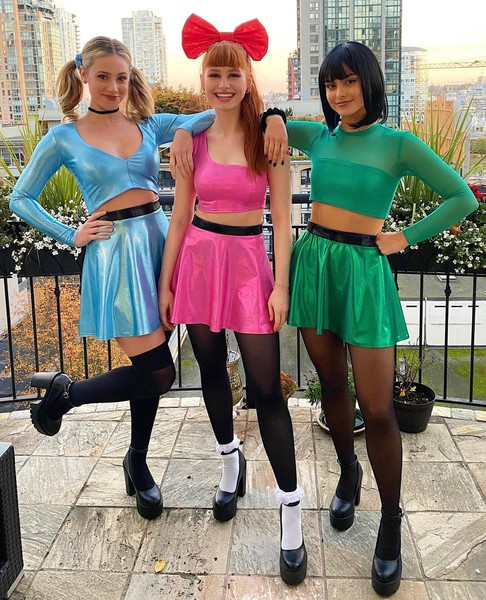 Фото №13 - Ужасно знаменитые: самые безумные костюмы селебов на Хэллоуин 🎃