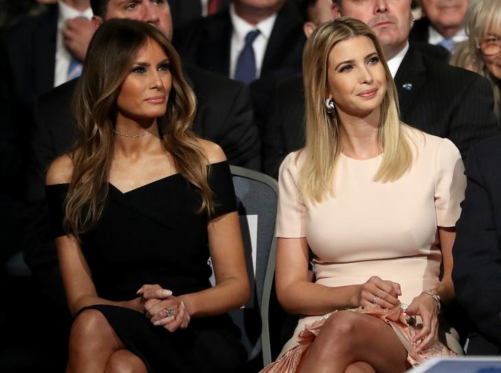 Фото №1 - Интриги семьи Трампов: как Иванка «украла» офис у Мелании