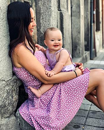 Фото №2 - Инстамама Ксения Секиро: «Общаемся с ребенком, как с гостем»