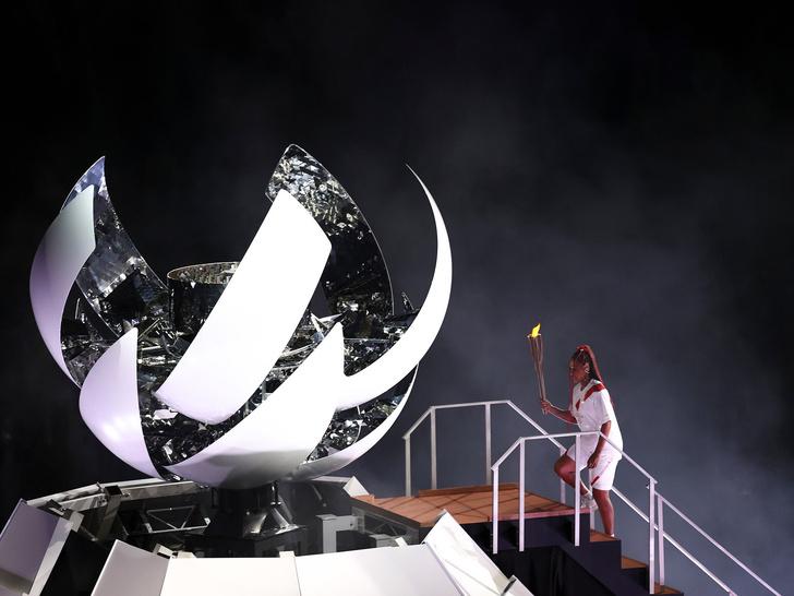 Фото №21 - Как прошло открытие Олимпиады в Токио: самые яркие кадры