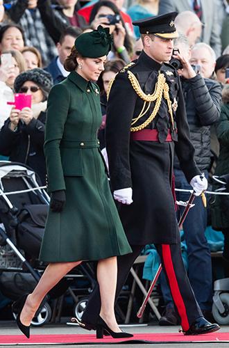 Фото №4 - Герцогиня Кембриджская на параде в честь Дня святого Патрика