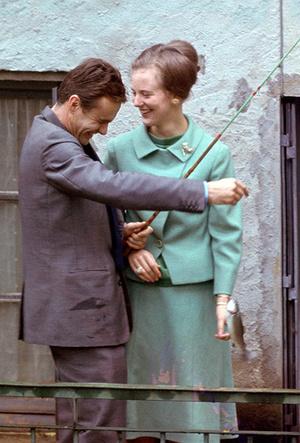 Фото №10 - Принц Хенрик и Королева Маргрете: история любви в фотографиях