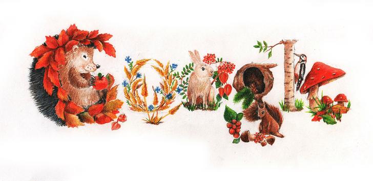 Фото №22 - «Дудл для Google — 2015»: 30 лучших рисунков