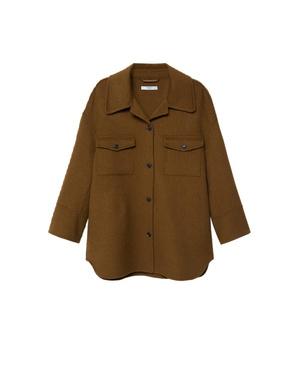 Фото №4 - Где купить точно такую же куртку-рубашку, как у Лили Коллинз, и еще 4 похожие альтернативы
