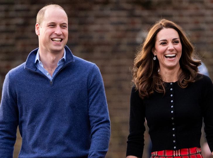 Фото №1 - Как принц Уильям подшутил над супругой в ее день рождения