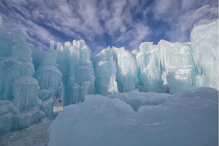 Фото №1 - Ледяные замки