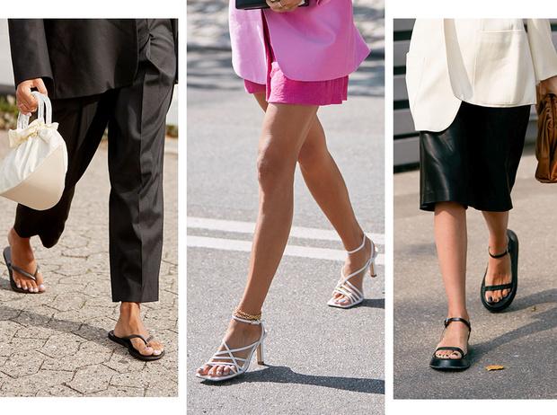 Фото №1 - Модные сандалии 2020: лучшие варианты для жаркого сезона