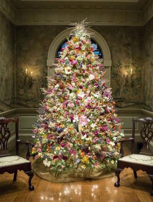 Фото №9 - Елочка, цвети: новый рождественский тренд в декоре