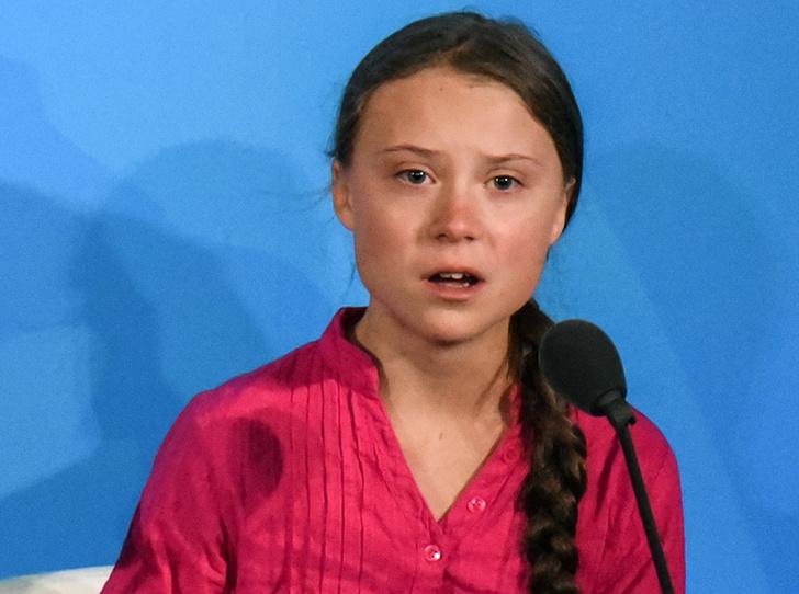 Фото №1 - «Вы украли мое детство»: почему все обсуждают речь 16-летней школьницы на ассамблее ООН