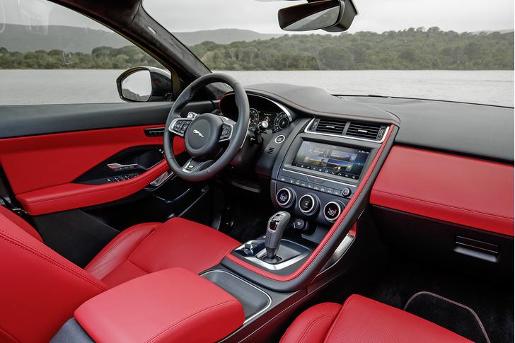 Фото №2 - Jaguar E-Pace. Он вам не котик!