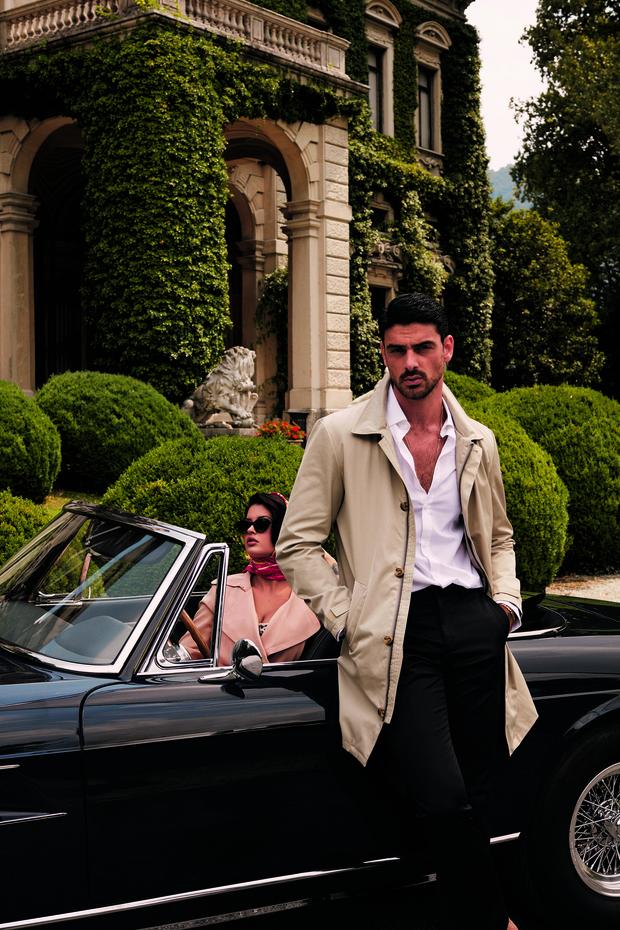 Фото №3 - Сеанс гипноза: самый обсуждаемый итальянский актер стал лицом мужской коллекции Guess