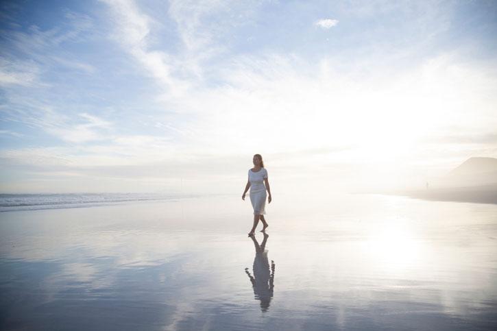 Женщина в одиночестве