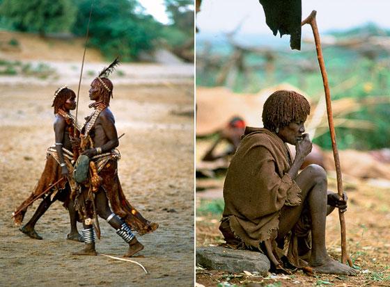 Фото №2 - Удары судьбы: за что мужчины эфиопского племени бьют своих женщин