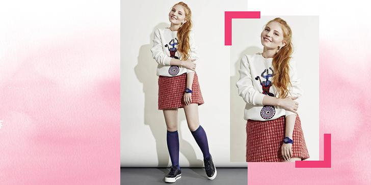Фото №2 - 5 способов носить клетчатую юбку