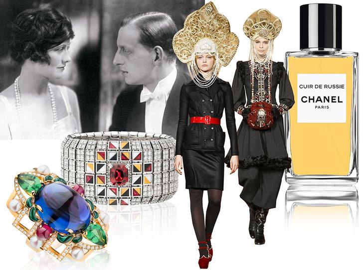 Фото №1 - Сумка-муфта и духи-деготь: как дом Chanel заставил мир полюбить Россию