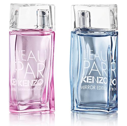 L`Eau par Kenzo Mirror Edition Pour Femme дляя нее и L'Eau par Kenzo Mirror Edition Pour Homme для него, Kenzo