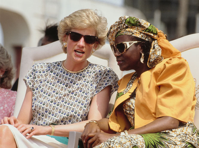 Фото №5 - Любимые солнцезащитные очки принцессы Дианы