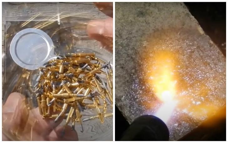 Фото №1 - Энтузиаст показывает, как добыть золото из контактов от ракетной техники СССР (видео)