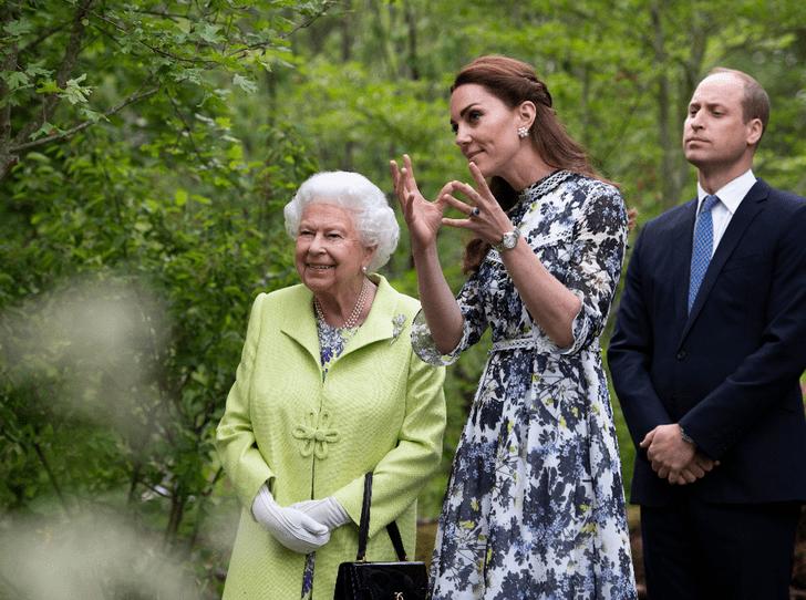 Фото №1 - Почему Королева не сразу приняла герцогиню Кейт