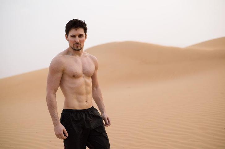 Павел Дуров показал свое фото первый раз за 3 года