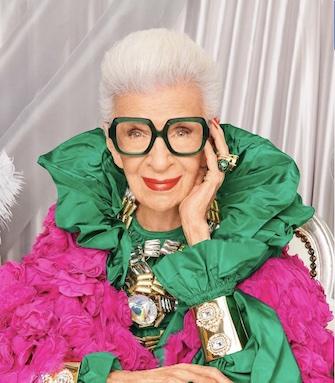 Модный возраст: икона стиля Айрис Апфель отмечает 100-летний юбилей