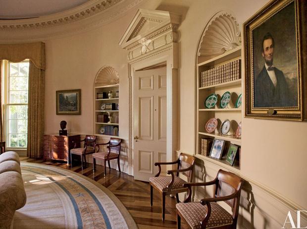 Фото №8 - Классика с личным акцентом: как первые леди США меняли Белый дом